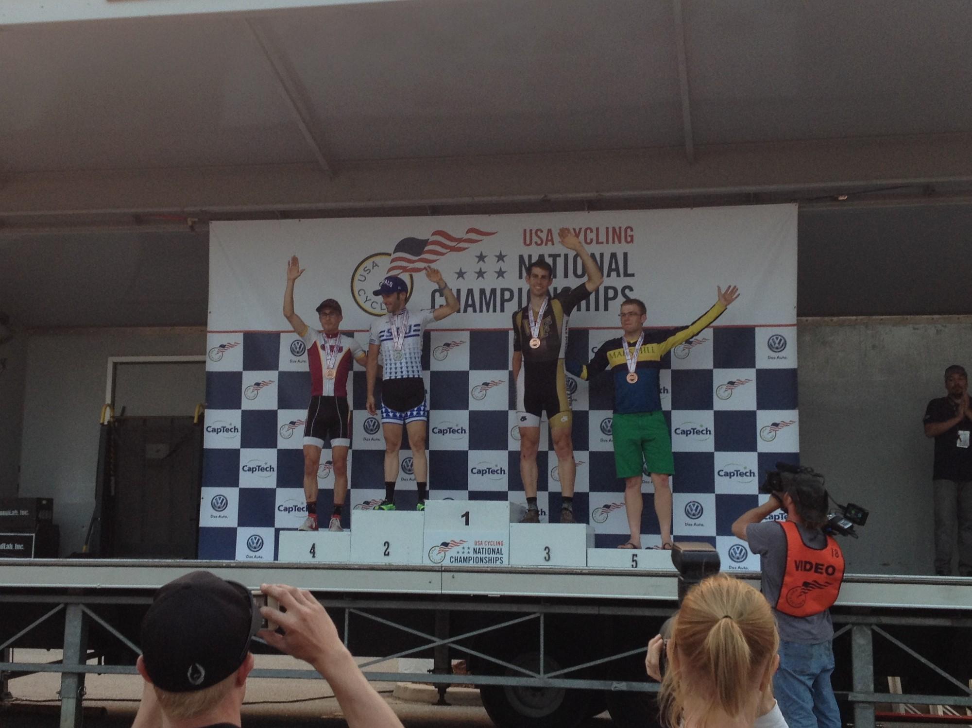 Steven Vogel, Wake Forest Univ, at the 2014 National Championships