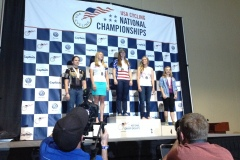 Katy Applin on the Podium for WFU, 2014 National Championships